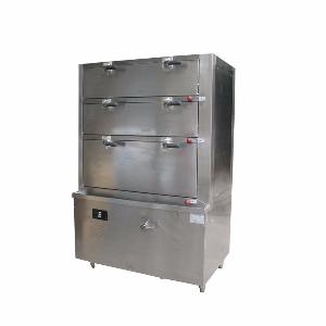 三门海鲜蒸柜SDZG-021电磁三门海鲜蒸柜-商用电磁蒸柜-上海万博manbext体育官网厂家供应