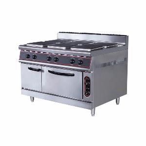 四头电煮食炉连电焗炉ZH-TT-4A电煮食炉