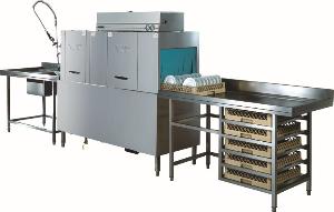 洗碗机R-1SR通道式洗碗机|酒店食堂洗碗机|大型商用洗碗机
