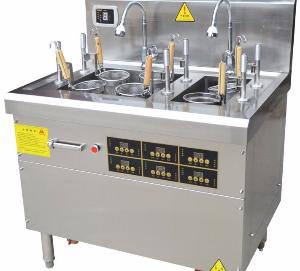 自动电磁煮面炉-商用电磁煮面炉-全自动智能煮面炉-自动升降煮面炉