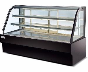 弧形后移门蛋糕展示柜C款-移门蛋糕柜-蛋糕展示柜