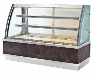 弧形后移门蛋糕展示柜A款-蛋糕柜-蛋糕展示柜-后开门蛋糕展示柜-弧形蛋糕展示柜