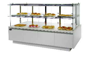 蛋糕模型柜/面包房不锈钢玻璃展示柜/中岛柜/面包店专用展示柜/面包柜/蛋糕冷藏柜/上海蛋糕泠藏柜